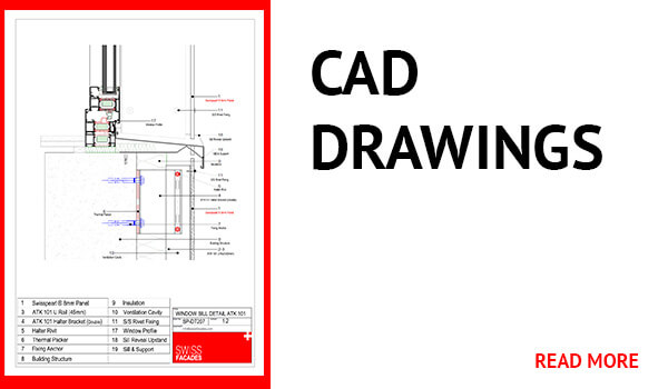 Cad Drawings - Swisspearl Facade Panels