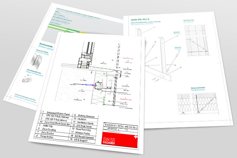 CAD Drawings, technical brochures