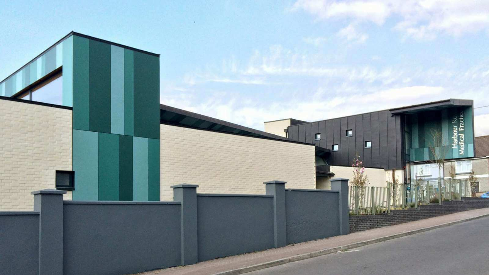 Cladding - Harbour Row Medical Centre Longford