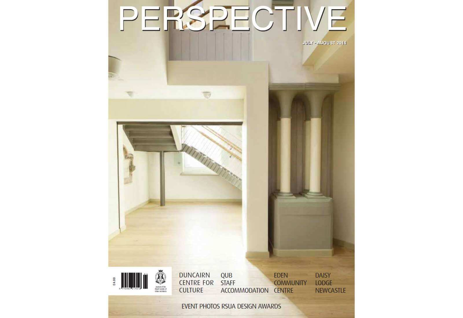 PERSPECTIVE Jul-Aug 2014 - cladding by swiss facades