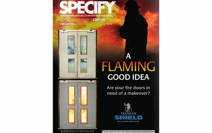 Cladding by Swiss Facades - Specify Magazine june-july-2013-cover
