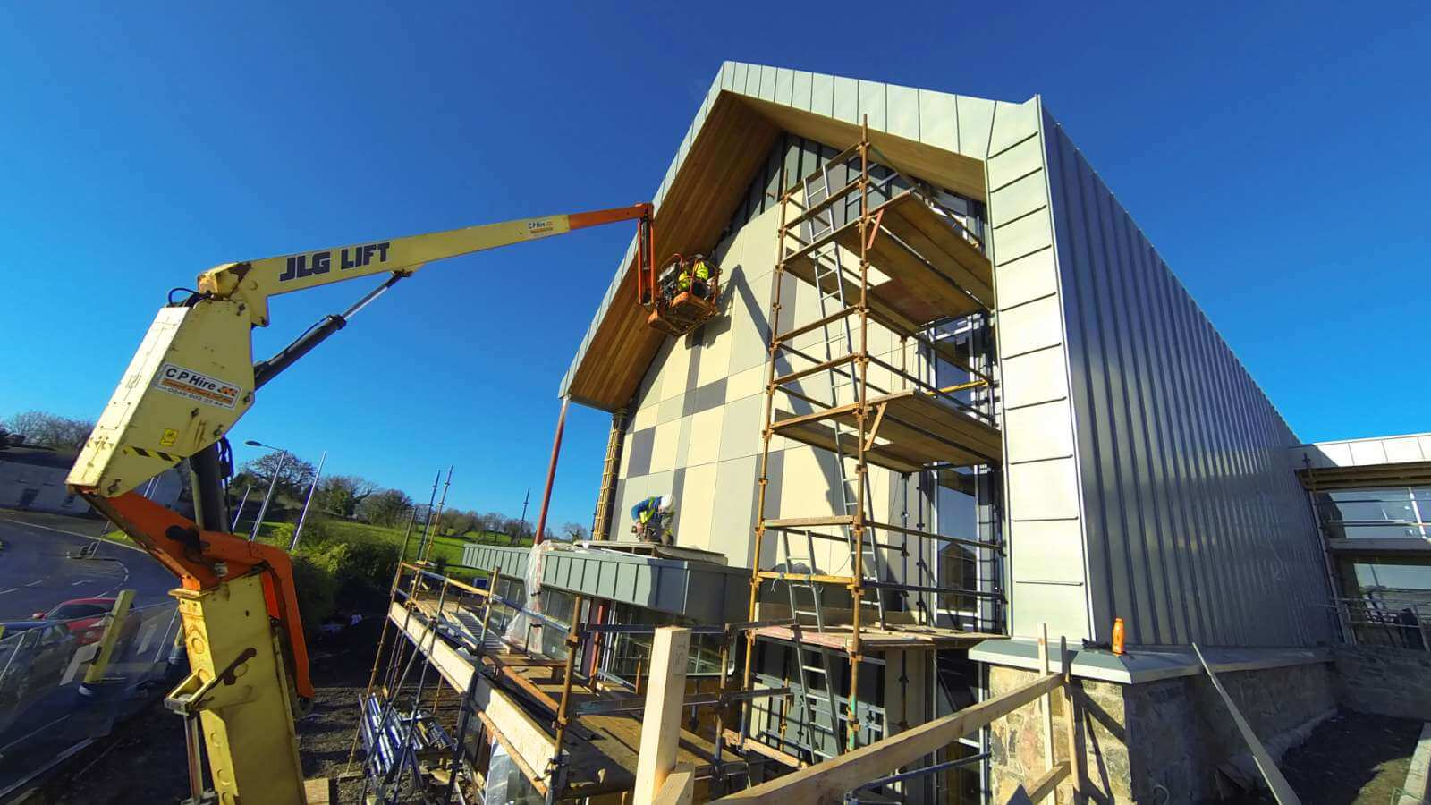 Seamus Heaney Center Facade Cladding