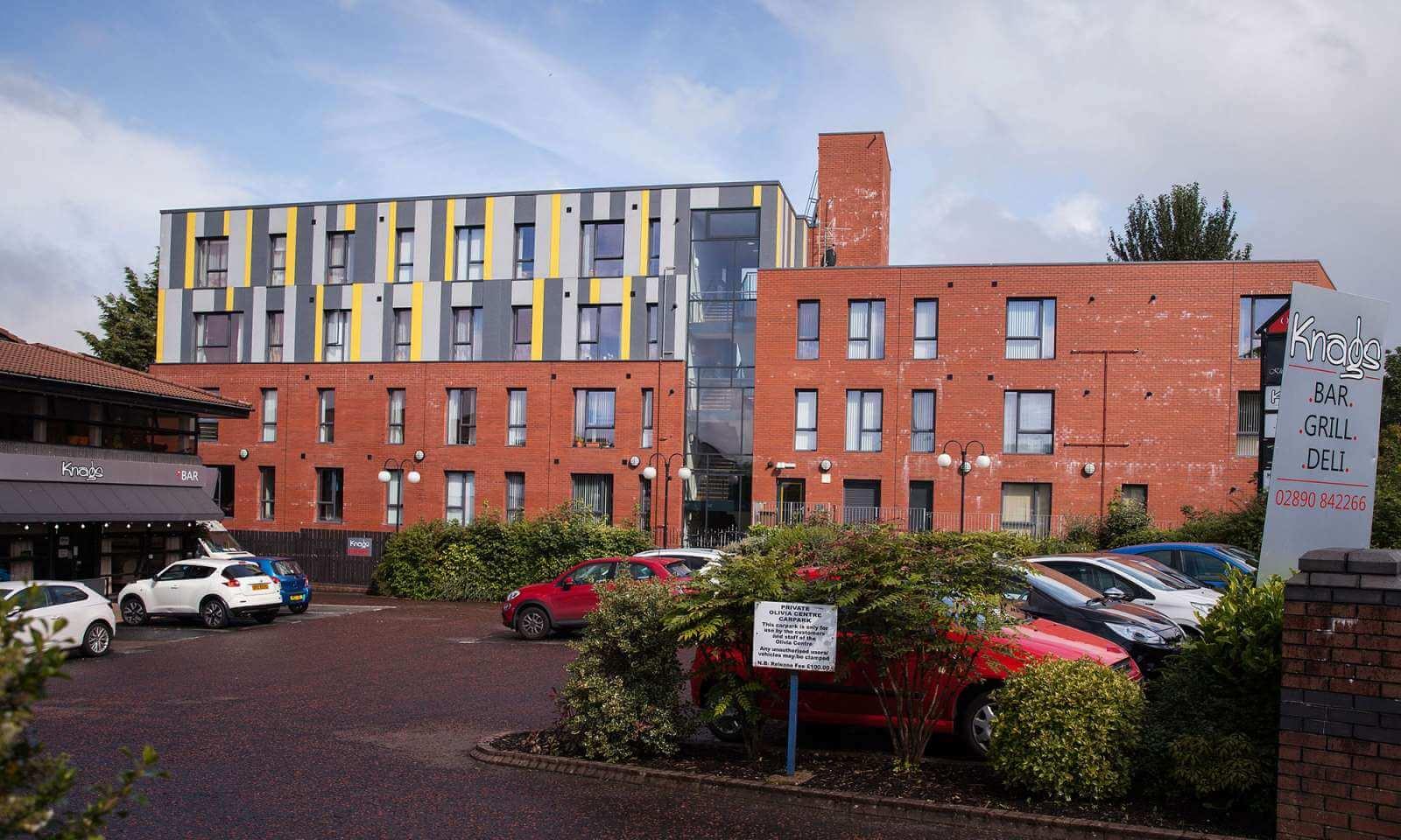 Social Housing Glengormley - Fibre Cement Cladding