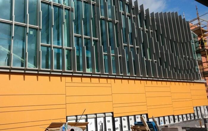 tesco cladding by swiss facades
