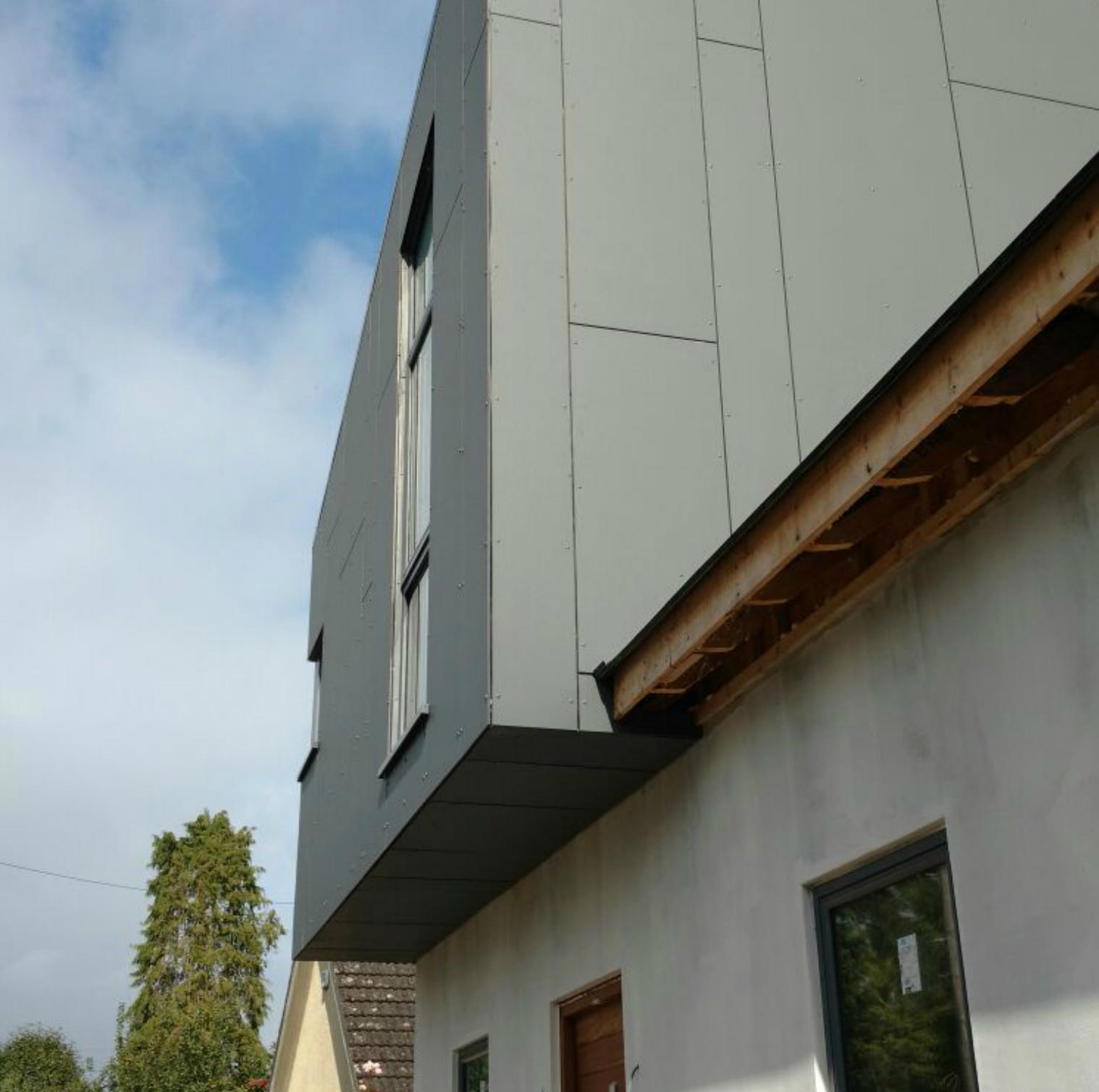 Rainfosreen fibre cement cladding