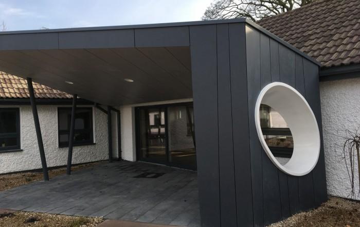 ofalia house fibre cement cladding