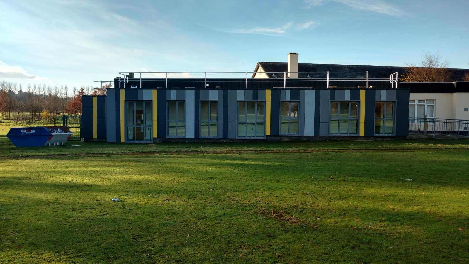 Woodlea House Gransha, Derry - Fibre Cement Cladding
