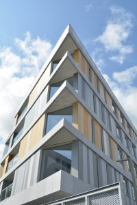 Western Road fibre cement claddin by Swiss Facades in Republic of Ireland
