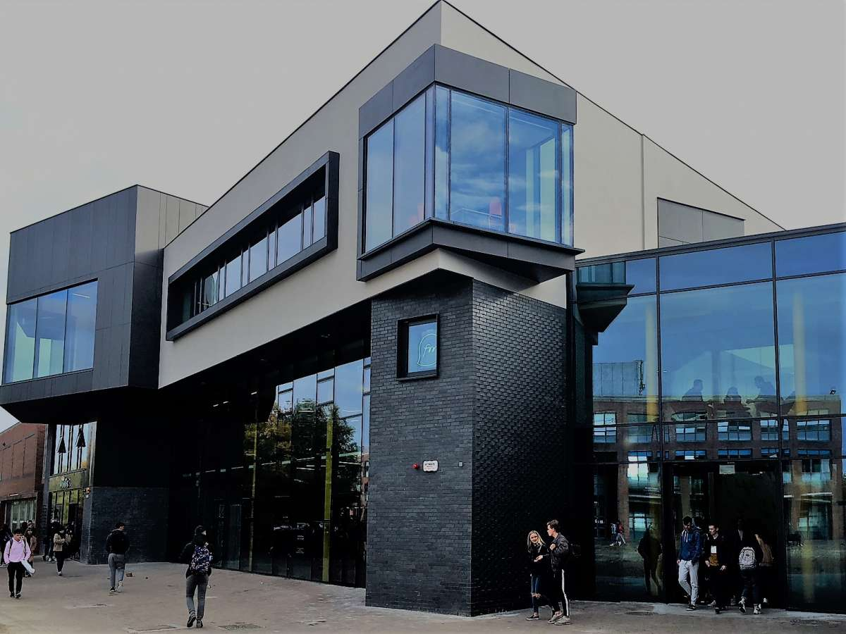 New U building at DCU gets Presidential opening.