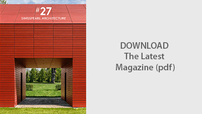Swisspearl® Architecture Magazine - Modern examples of fibre cement cladding use.